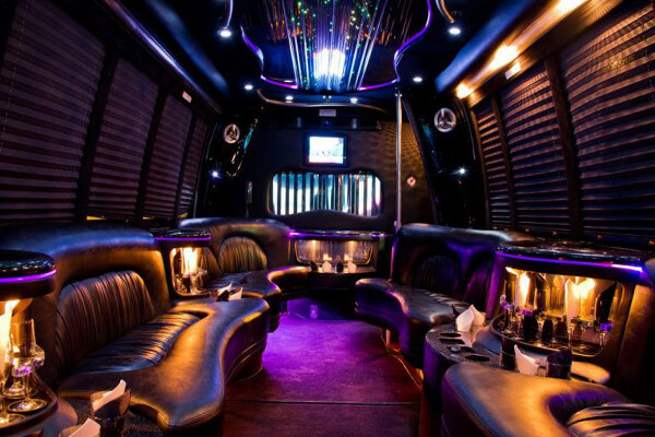 15 Person Party Bus Rental Ft Worth