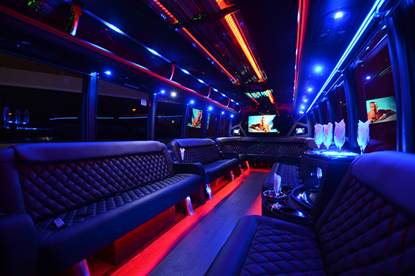 40 Person Party Bus Rental Ft Worth