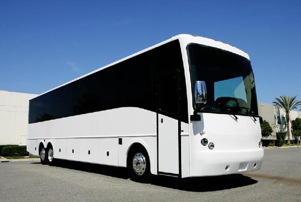 Fort Worth 50 Passenger Charter Bus