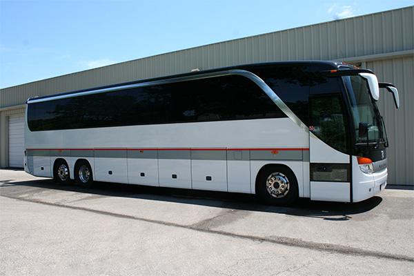 Fort Worth 56 Passenger Charter Bus